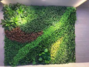Thiết kế và thi công tường lá cây giả tại quận Tân Phú chất lượng nhất