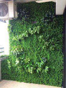 Giá thi công tường cây giả tại quận Bình Thạnh cạnh tranh nhất thu hút khách hàng